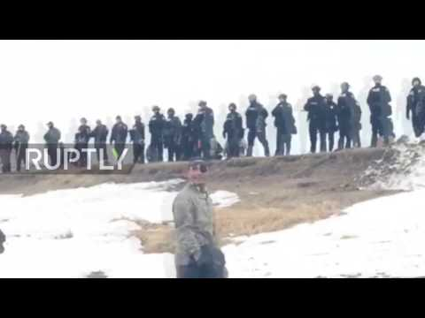 USA: National Guard clear out remaining protesters at Standing Rock camp