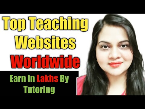 Best Teaching Platforms Worldwide | Online Teaching Jobs | Top 10 Tutoring platforms.Work from home