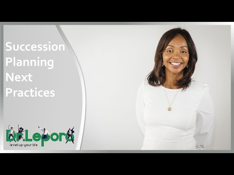 Succession Planning Next Practices
