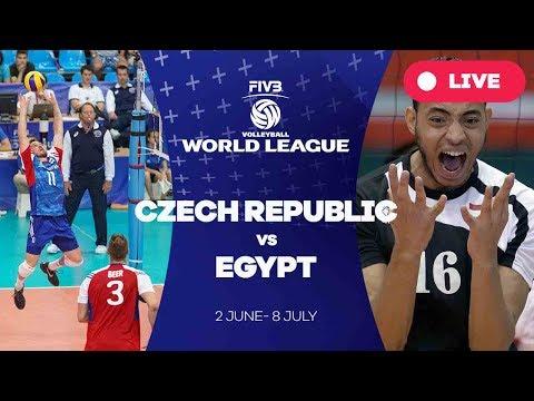 Czech Republic v Egypt - Group 2: 2017 FIVB Volleyball World League