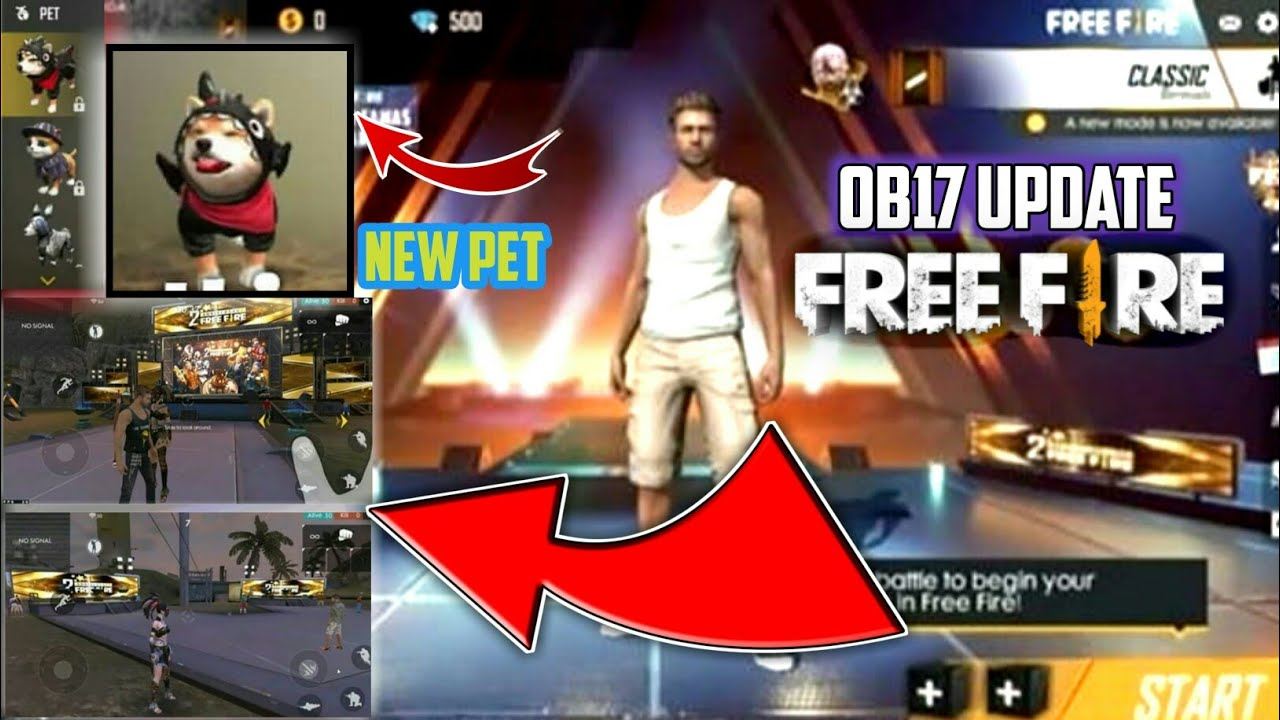 Free Fire Advance Server Lobby Update Latest Event Full Details Video Log In Advanced Server