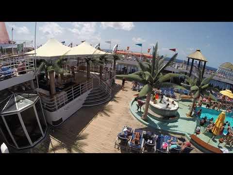 9/7/16 Ecstacy Sea Day Nassau to Charleston