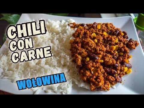 Chili con carne - przepis jak zrobić świetne, mocno mięsne chili con carne przez każdego.
