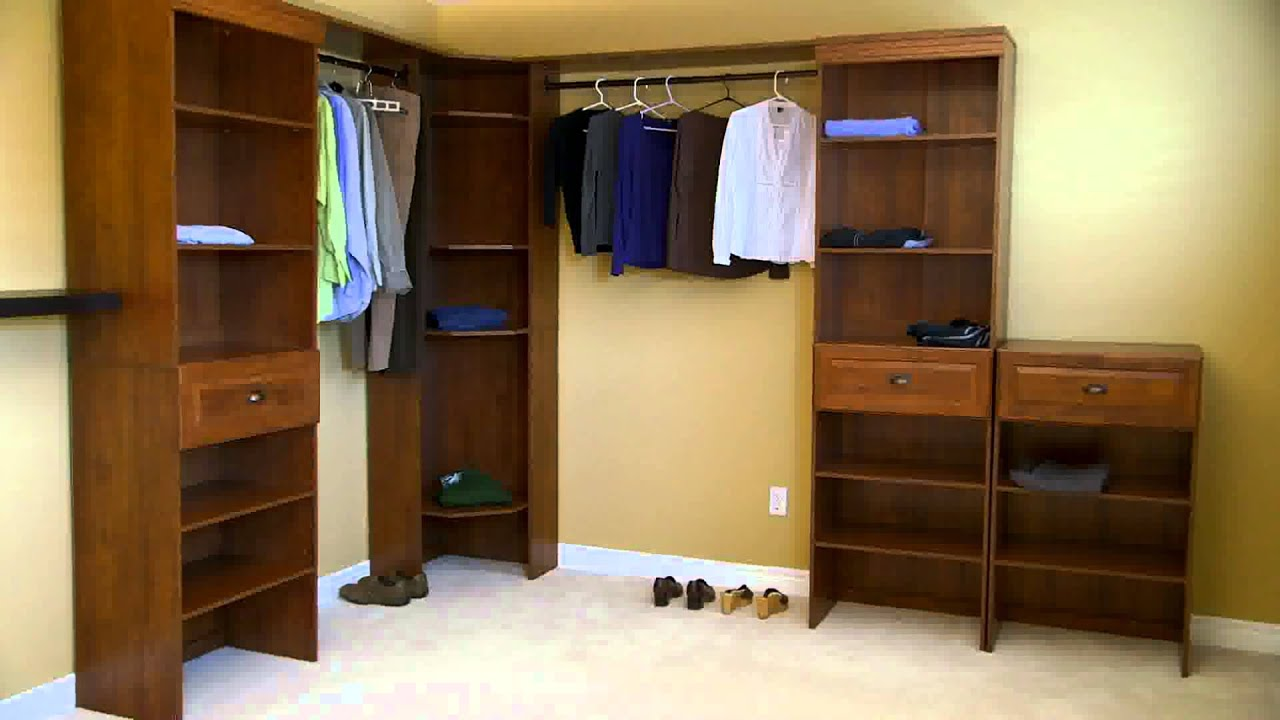 Merveilleux The Woodfield Closet Kit From Canadian Tire   YouTube
