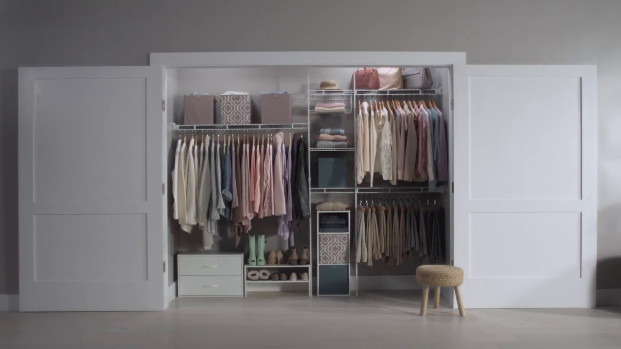 How To: Install A Closet Organizer