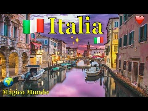 Los Más Bellos Paisajes de Italia. HD