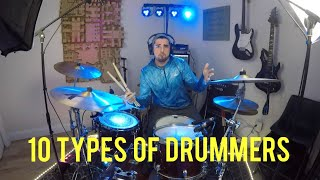 Download 10 Types Of Drummers 2019 Mp3 and Videos