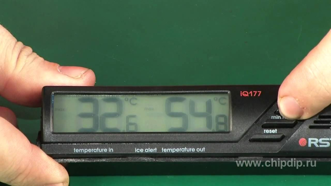 Thermometre Exterieur Voiture 02177 Digital Auto Thermometer