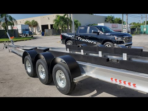 How To Build A Custom Boat Trailer (RealXTrailers Miami )