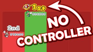 Luigi wins by doing absolutely nothing: SUPER MARIO 3D WORLD (Luigi wins with no controller inputs)