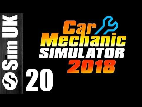 El Camino Stripped and Rebuilt part 1| Car Mechanic Simulator 2018 #20