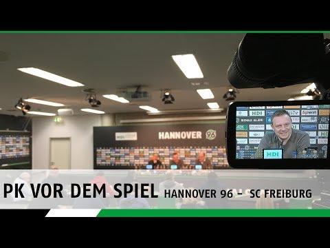 PK vor dem  Spiel | Hannover 96 - SC Freiburg