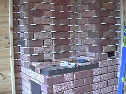 """Керамическая плитка для печей и каминов """"Терракот"""""""