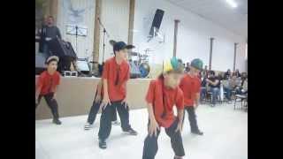 Grupo de dança AdorArte - HipHop infantil Coreografia É Quente