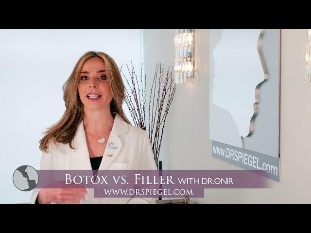 Botox vs  Filler