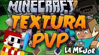 Minecraft | TEXTURA PVP - Muy Buena y La Mejor