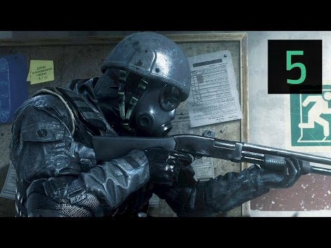 Прохождение Call of Duty 4 - Modern Warfare. Часть 1.