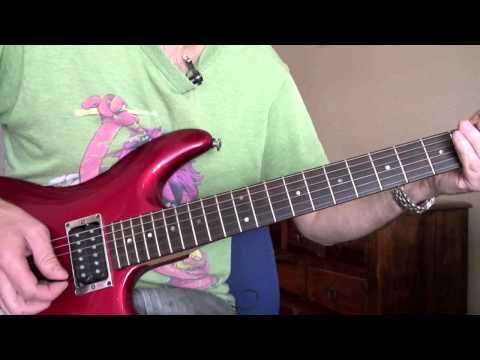 Bon Jovi - Bed of Roses solo lesson