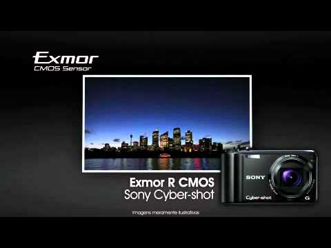 Sony Cyber-shot - Exmor R CMOS Sensor