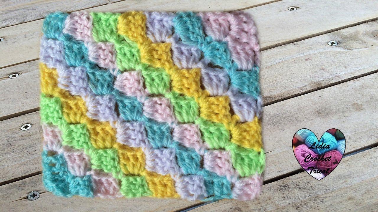 Tutoriel C2C corner to corner crochet  Tutorial C2C a
