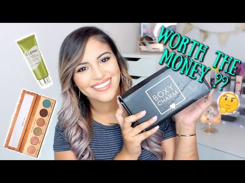 July Boxycharm Unboxing 2019 | Try On + First Impressions