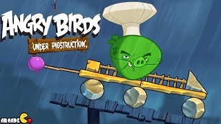 Angry Birds Under Pigstruction - NEW BIRD Silver Looping Legend Level 30-40 All 3 Star Walkthrough