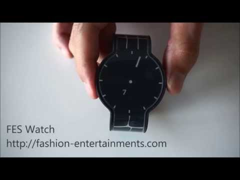 FES Watch has an e-ink display *and* band, with 24 different design combinations