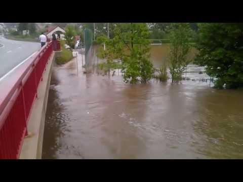 Hochwasser Berga/ Elster 2013
