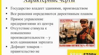 видео Командно - административная система.