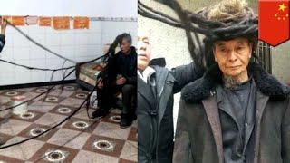 中國版長髮王子!男子54年沒剪過頭髮