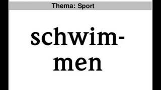 Start Deutsch 1 Sprechen Teil 2, Thema Sport