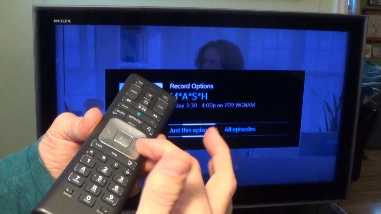 How to Use Your Xfinity DVR