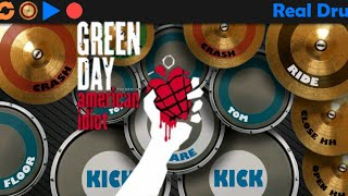 Download Green Day - american idiot _real drum