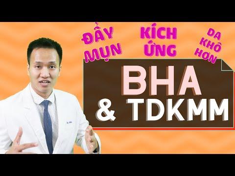 BHA: ĐẨY MỤN, DA KHÔ HƠN và Nguyên nhân gây ra các tác hại không mong muốn| Dr Hiếu