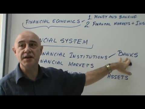 Money and Banking - Lecture 01