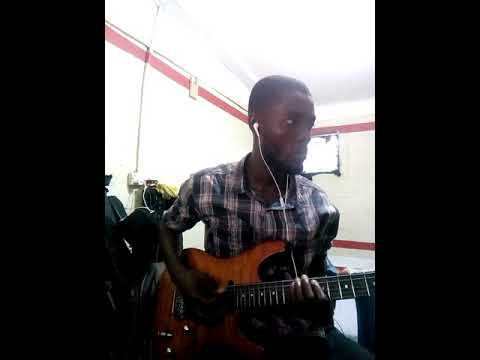 Guitar solo of iron boy by Amakye Dede