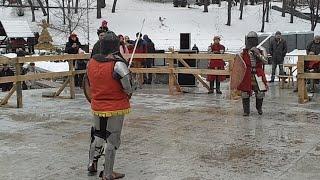 Синяки и Шишки на Масленицу: Это Рыцарские Бои, Спивоче Поле, Киев, Украина