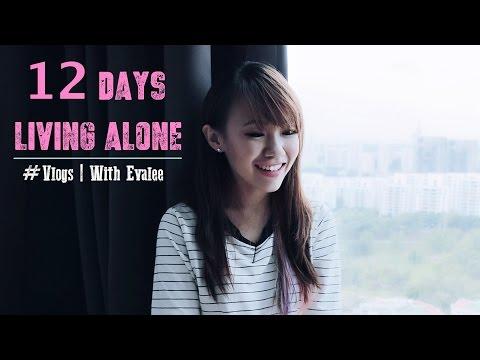 2 weeks living alone   VLOG   WITH EVALEE