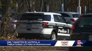 School takes action after girl targeted with hate letters
