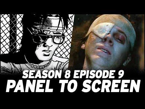 The Walking Dead Season 8, Episode 9 - Show Vs. Comic!