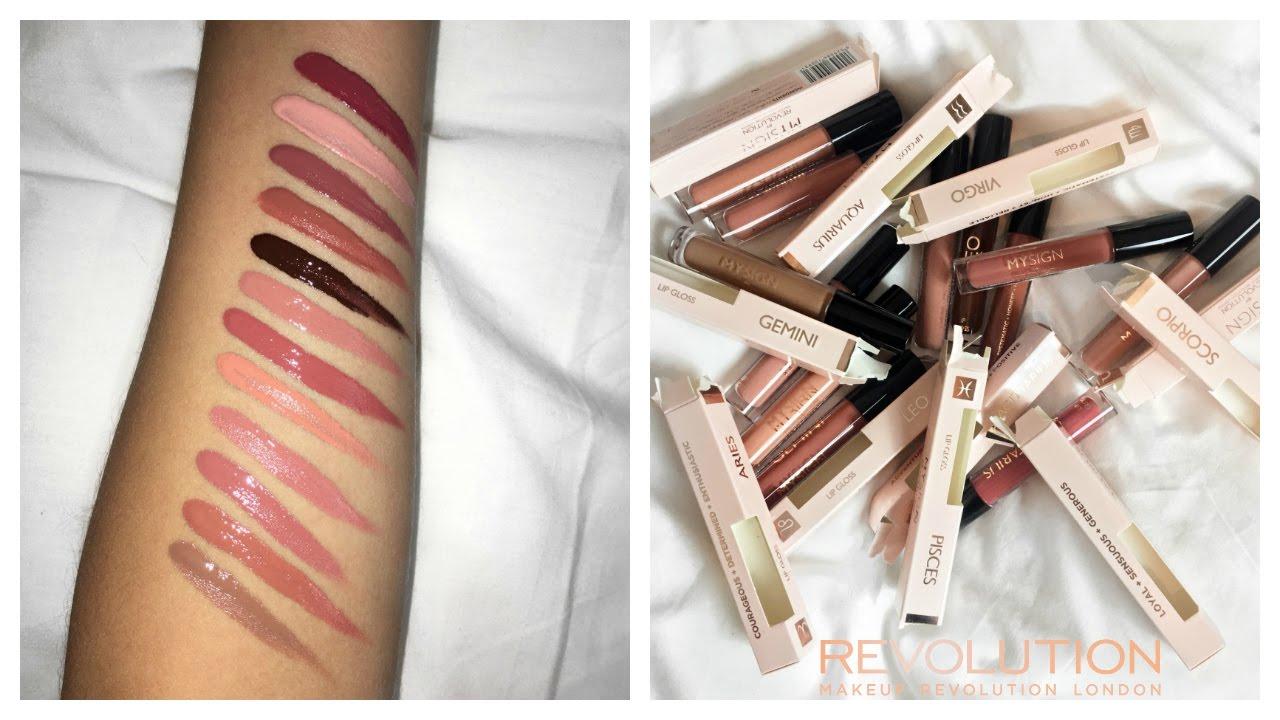 Makeup revolution lip gloss