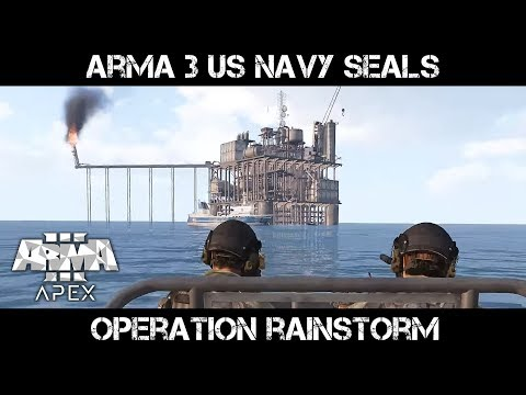 Op Rainstorm - ArmA 3 US Navy SEALs Gameplay