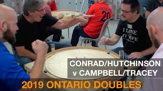 2019 Ontario Doubles Semifinal - Conrad/Hutchinson v Campbell/Tracey