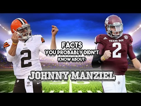 15 Facts You Probably Didn't Know About Johnny Manziel