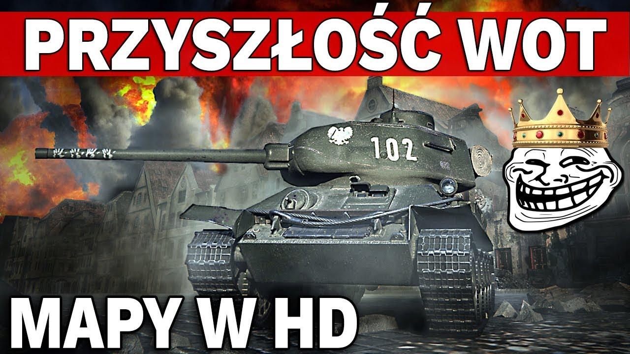 PLANY NA ROK 2017 – Mapy w HD i Nowe Pojazdy – World of Tanks