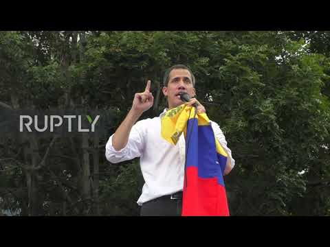 Venezuela: Thousands join Guaido on anti-govt march in Caracas