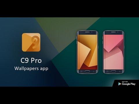 Samsung Galaxy C9 Pro Wallpapers App 2017 Youtube