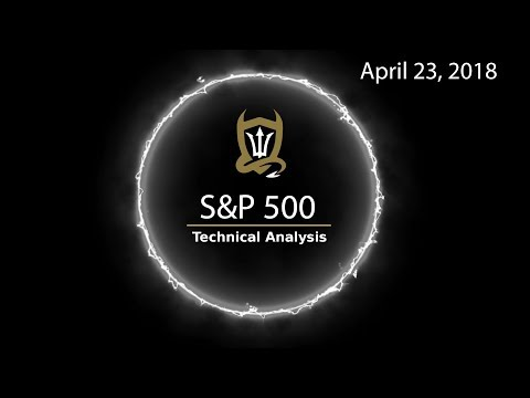 S&P 500 Technical analysis - the 5 of the 5...  [04/23/2018}