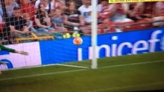 MARK WRIGHT WONDER FREE KICK    | ENGLAND VS REST OF THE WORLD | Soccer Aid 2016 |