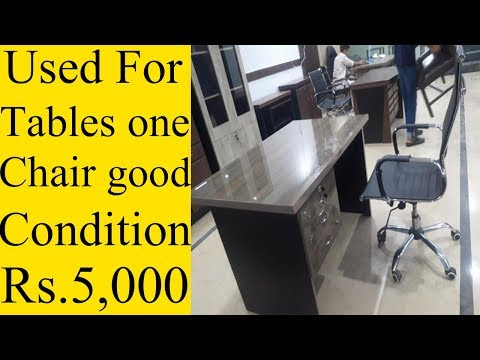 Used 4 Tables And 1 Chair For Sale Good Condition | Offer Time